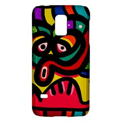 A Seamless Crazy Face Doodle Pattern Galaxy S5 Mini