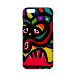 A Seamless Crazy Face Doodle Pattern Apple Iphone 6/6s Hardshell Case