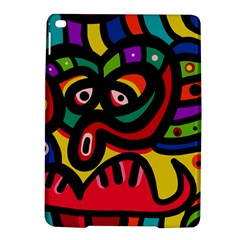 A Seamless Crazy Face Doodle Pattern Ipad Air 2 Hardshell Cases