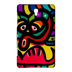 A Seamless Crazy Face Doodle Pattern Samsung Galaxy Tab S (8.4 ) Hardshell Case