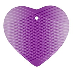 Abstract Lines Background Ornament (Heart)