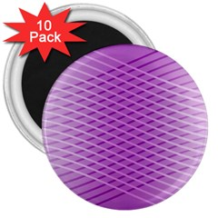 Abstract Lines Background 3  Magnets (10 Pack)