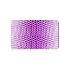Abstract Lines Background Magnet (Name Card)