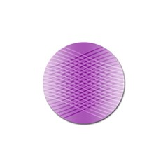 Abstract Lines Background Golf Ball Marker