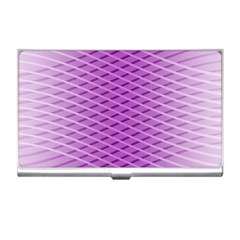 Abstract Lines Background Business Card Holders
