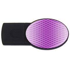 Abstract Lines Background Usb Flash Drive Oval (2 Gb)