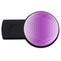 Abstract Lines Background Usb Flash Drive Round (4 Gb)