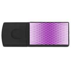 Abstract Lines Background Usb Flash Drive Rectangular (4 Gb)