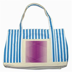 Abstract Lines Background Striped Blue Tote Bag
