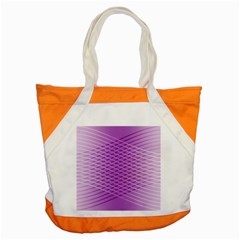 Abstract Lines Background Accent Tote Bag