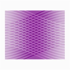 Abstract Lines Background Small Glasses Cloth (2-Side)