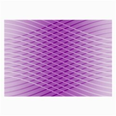 Abstract Lines Background Large Glasses Cloth (2-Side)