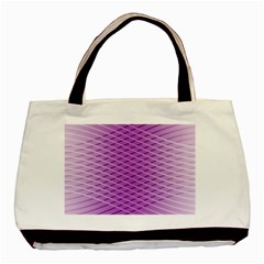 Abstract Lines Background Basic Tote Bag (two Sides)