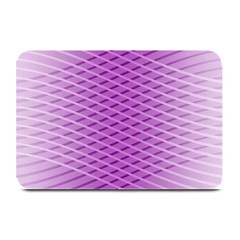Abstract Lines Background Plate Mats
