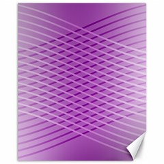 Abstract Lines Background Canvas 11  X 14