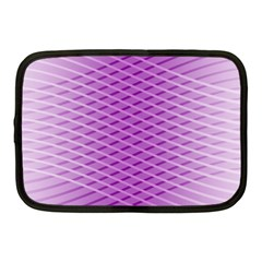 Abstract Lines Background Netbook Case (medium)