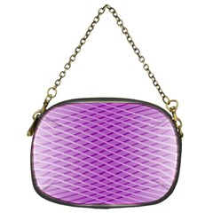 Abstract Lines Background Chain Purses (one Side)