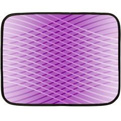 Abstract Lines Background Fleece Blanket (Mini)