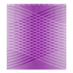 Abstract Lines Background Shower Curtain 66  X 72  (large)