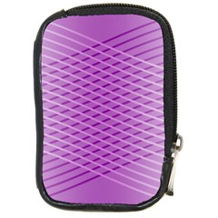 Abstract Lines Background Compact Camera Cases