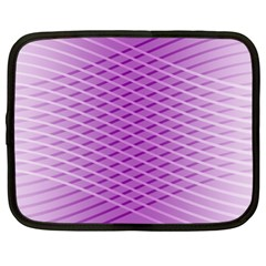 Abstract Lines Background Netbook Case (xl)