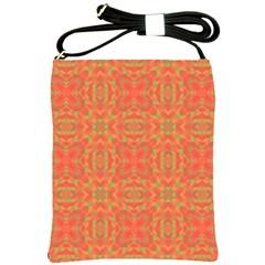 Pattern Shoulder Sling Bags