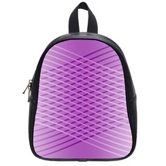 Abstract Lines Background School Bags (small)
