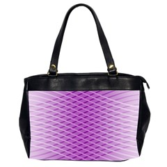 Abstract Lines Background Office Handbags (2 Sides)