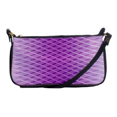 Abstract Lines Background Shoulder Clutch Bags