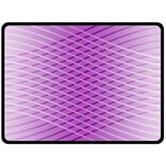 Abstract Lines Background Fleece Blanket (large)