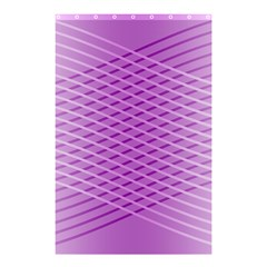 Abstract Lines Background Shower Curtain 48  X 72  (small)
