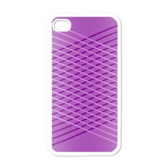 Abstract Lines Background Apple Iphone 4 Case (white)