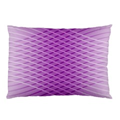 Abstract Lines Background Pillow Case (two Sides)