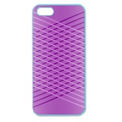 Abstract Lines Background Apple Seamless Iphone 5 Case (color)