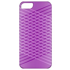 Abstract Lines Background Apple Iphone 5 Classic Hardshell Case