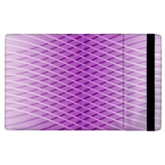 Abstract Lines Background Apple Ipad 3/4 Flip Case
