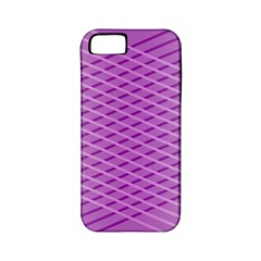 Abstract Lines Background Apple Iphone 5 Classic Hardshell Case (pc+silicone)