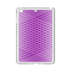 Abstract Lines Background Ipad Mini 2 Enamel Coated Cases