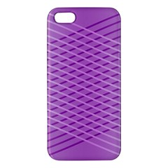 Abstract Lines Background Apple Iphone 5 Premium Hardshell Case
