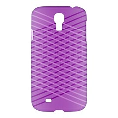 Abstract Lines Background Samsung Galaxy S4 I9500/i9505 Hardshell Case