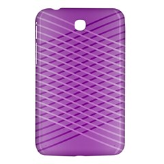 Abstract Lines Background Samsung Galaxy Tab 3 (7 ) P3200 Hardshell Case