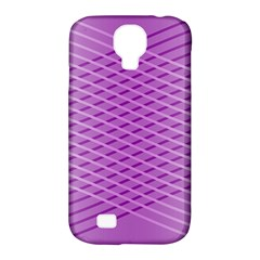 Abstract Lines Background Samsung Galaxy S4 Classic Hardshell Case (pc+silicone)