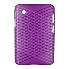 Abstract Lines Background Samsung Galaxy Tab 2 (7 ) P3100 Hardshell Case