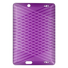 Abstract Lines Background Amazon Kindle Fire Hd (2013) Hardshell Case