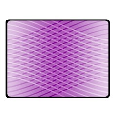 Abstract Lines Background Double Sided Fleece Blanket (Small)