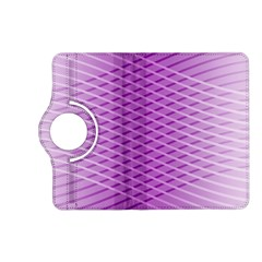 Abstract Lines Background Kindle Fire Hd (2013) Flip 360 Case