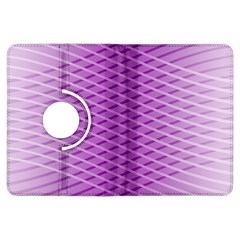 Abstract Lines Background Kindle Fire HDX Flip 360 Case