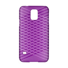 Abstract Lines Background Samsung Galaxy S5 Hardshell Case