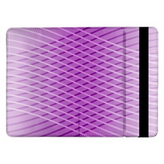 Abstract Lines Background Samsung Galaxy Tab Pro 12 2  Flip Case