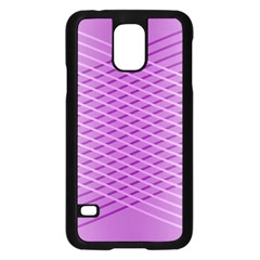 Abstract Lines Background Samsung Galaxy S5 Case (black)
